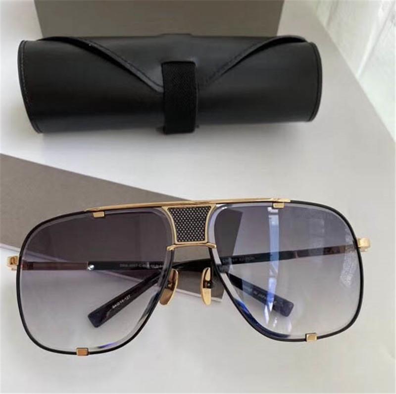 Freie globale Logistik Macht fünf 2087 neuestes Design klassischen Mode-Stil Männer und Frauen Luxus Sonnenbrille Top-Qualität UV400