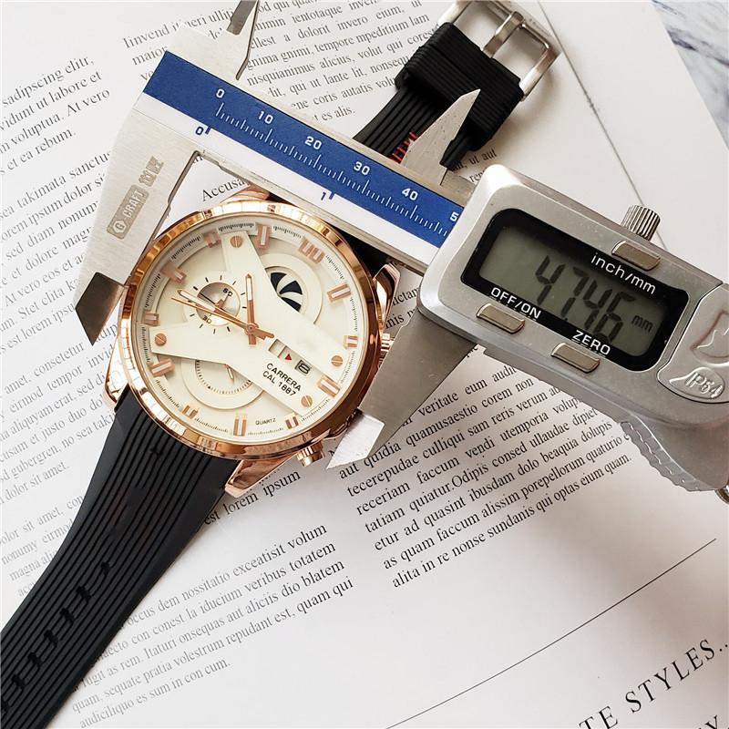 Hot Hochwertige Luxus Herrenuhren Stoppuhr TAG Tauch leuchtende Militäruhr Sportsonderausgabe Armbanduhren Designer-Uhren