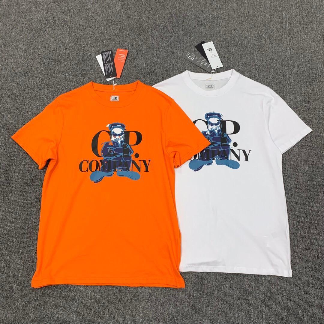 CP topstoney KORSAN ŞİRKET konng gonng Yaz yeni kısa kollu moda rahat gevşek Pamuk gündelik baskı yuvarlak boyun tişört