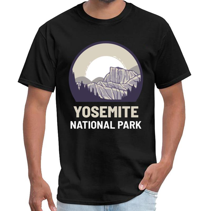 Personnalisé Parc national de Yosemite t-shirt salah homme saab T-shirt 3XL 4XL 5XL tenue