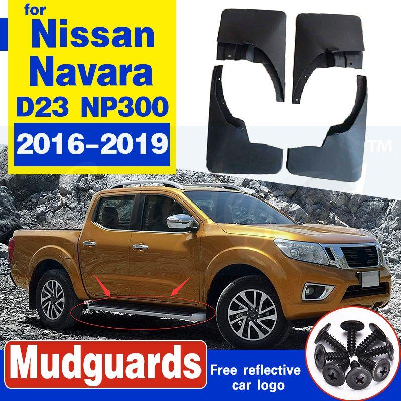 Auto-Schmutzfänger vorne Kotflügel hinten Splash Zubehör für Nissan Navara D23 NP300 2016 ~ 2019 2017 2018 Splash Guards Mudflaps