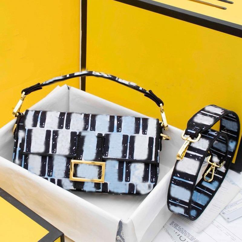 Fashion Baguette bag Womens Handbags Hobo Purse California Sky Belt Shoulder Bags Cross Body bags Metal Buckle F Messenger Bag Flap Bag Tote