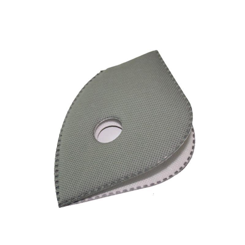 10pcs / lot für Masken-Upgrade Radfahren Anti Staub Gesichtsmaske Replacement mit Aktivkohlefilter Gut Protective1