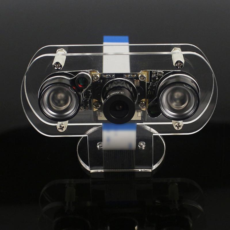 Модуль камеры ночного видения камеры Набор ночного видения камера с объективом светодиодные для Акриловый кронштейн Регулируемый Фокусное расстояние