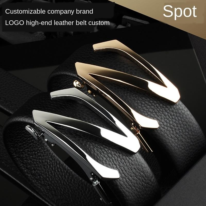 cuir Z-lettre de haute qualité en cuir la ceinture des hommes de la ceinture des hommes d'ouverture du moule Z-lettre de haute qualité ouverture du moule