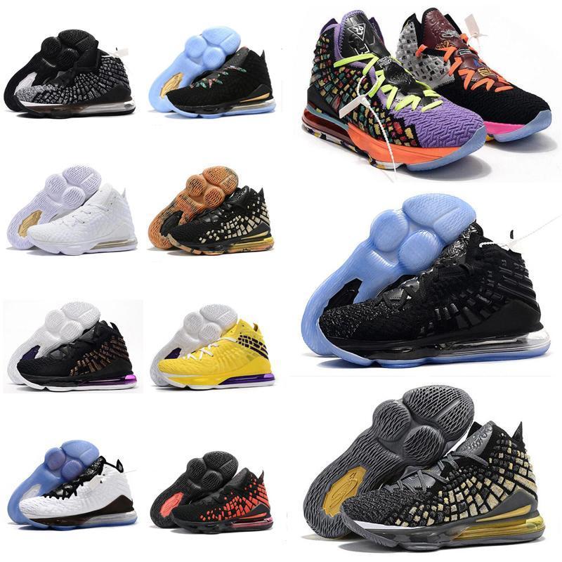 2020 neuf de haute qualité Chaussures de basket-ball à vendre James 17s Formateurs Chaussures de sportLebron 17 Chaussures de sport Sies Cushioned Chaussures de course 36 z0O8 #