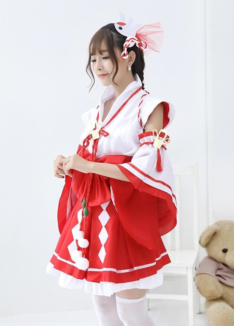 CdwAM Tencent Shi gioco di animazione re cellulare strega anime vestito gioco del telefono mobile delle donne coswear Da Qiao Yi kimono kimono beatitudine Terra Pura