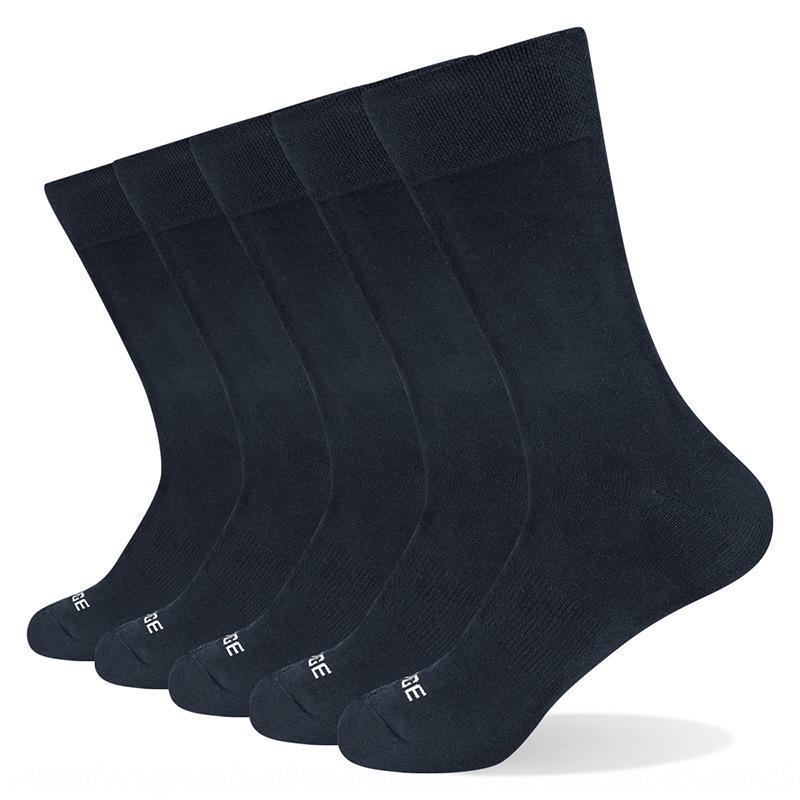 дышащий и случайный бизнес волокна хлопка удобные носки Sox8q YUEDGE мужские бамбуковые летние хлопчатобумажные носки