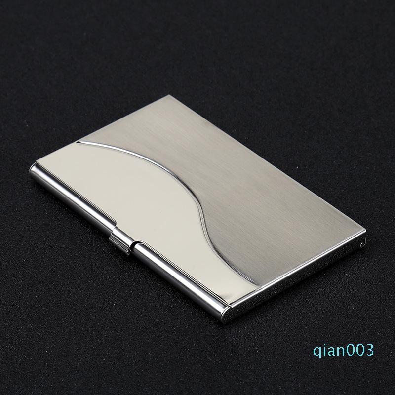 Nuevo metal de la manera Monedero astilla del color multi diseños de tarjetas Clip de alta calidad con tarjetas de identificación portable del sostenedor de 5 8sxa E1