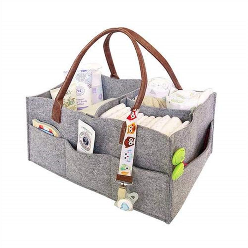 Stockage Organizer Travel Sentier Sac pour sacs à main Sacs Baby Portable Couette Sac Sac Sac Insert Cosmétique Faire toilette Ruahh