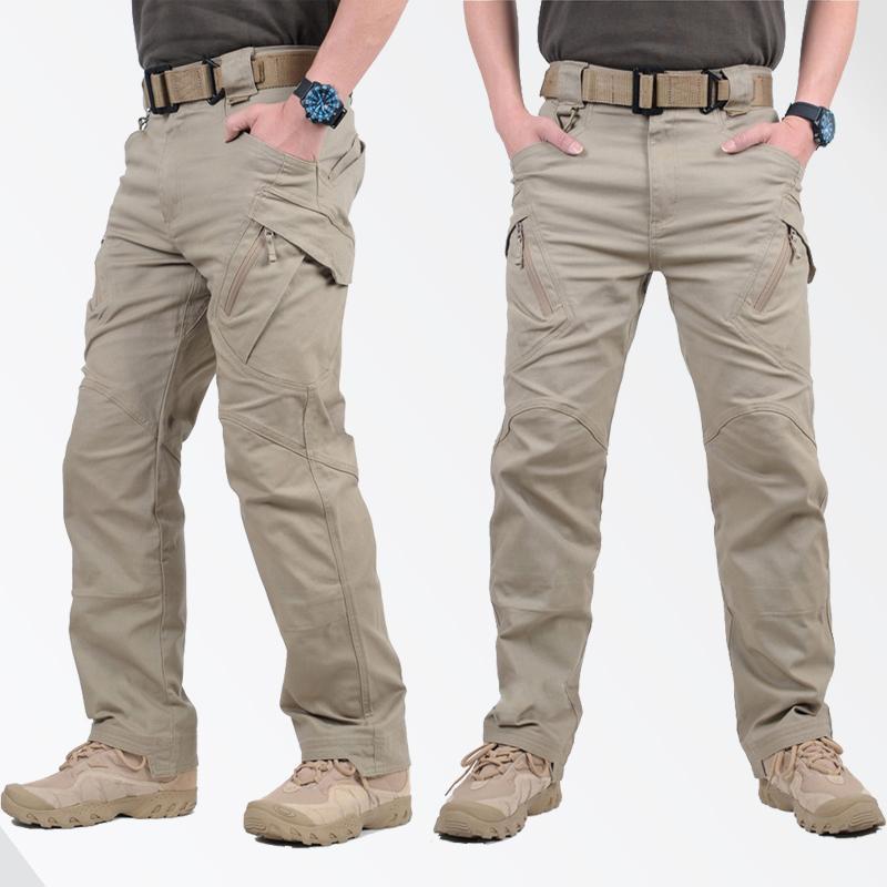 도시 군사 전술 바지 남성 Swat 전투 군대 조거 캐주얼 남성 Hikling 바지 Pantalones Hombre 방수화물 바지