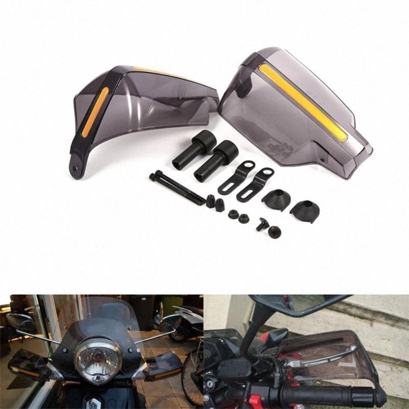 1pair motocicleta guiador protecção artes Motocross Scooter Windproof Moto Guarda Mão Handle escudo protetor Atacado ybgX #