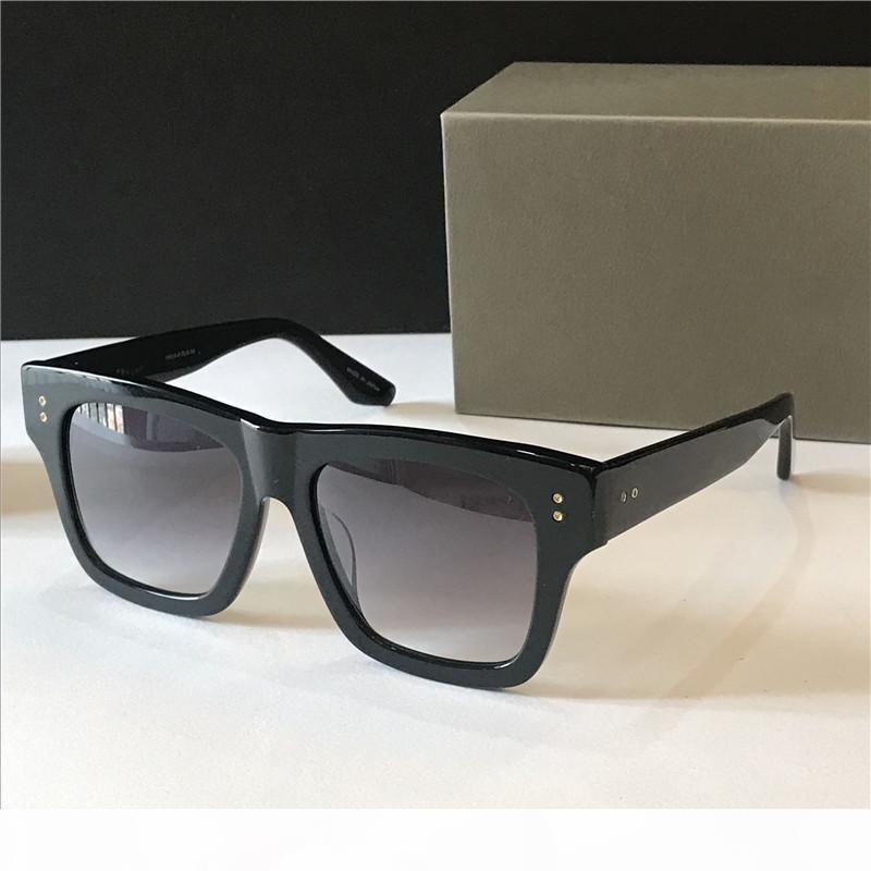 Yeni lüks erkek design vintage güneş gözlüğü CRE Fshion tarzı kare kare UV orijinal durumda olan 400 lens güneş gözlüğü