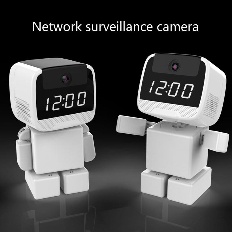 Nueva cámara 1080P Producto WiFi remoto interior de la cámara Tarjeta de red Inicio de vigilancia electrónica de reloj inglés y británicos Reglamento