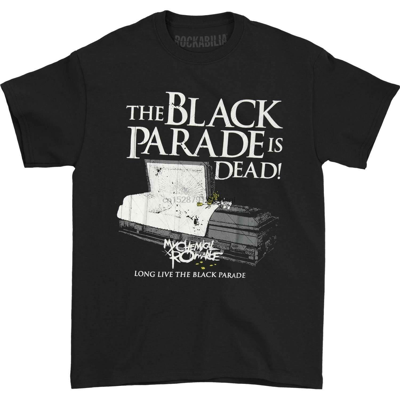 My Chemical Romance Erkekler Finali Veda Tee tişört Siyah Stil Kısa Kollu Tee Gömlek yazdır