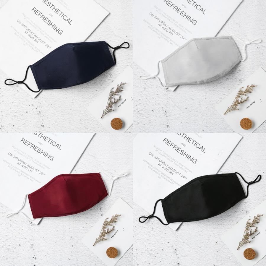Designer bouche Masque PM2,5 Échangeable avec charbon actif poussière Pm 2,5 S Air Masque # QA242 # 130