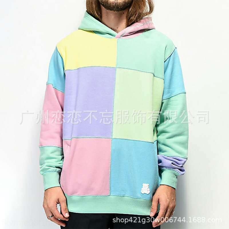 uomini nuova KrBdA ubdIN 2020 Autunno maglione di corrispondenza dei colori pullover del lungo manicotto del collare del pullover maglione
