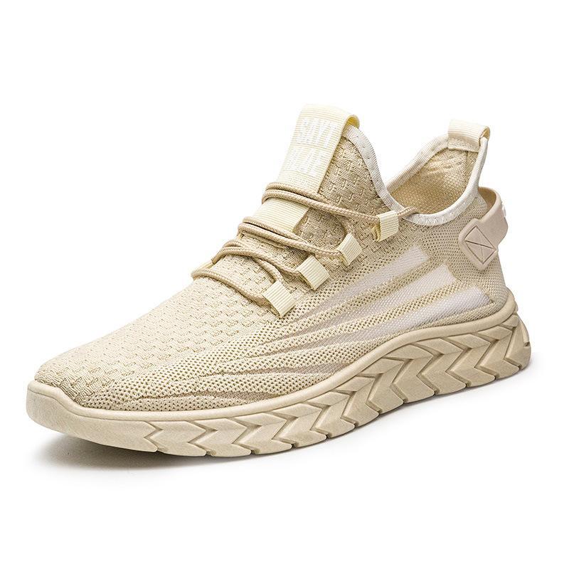 2020 primavera y otoño nuevo vuelo malla tejida zapatos de tendencia de la moda transpirable zapatillas de deporte ligeras y confortables zapatillas