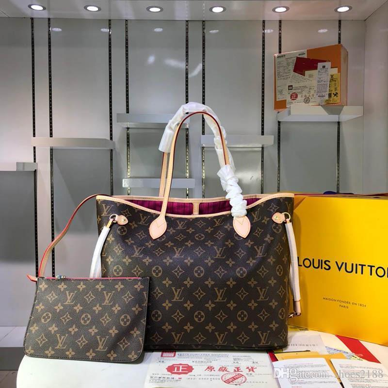 Frauen und Männer mit großer Kapazität Luxuxhandtasche global begrenzten Modetrend neue, qualitativ hochwertige Aktentasche Brieftasche Reisetasche M40990-22222 b8