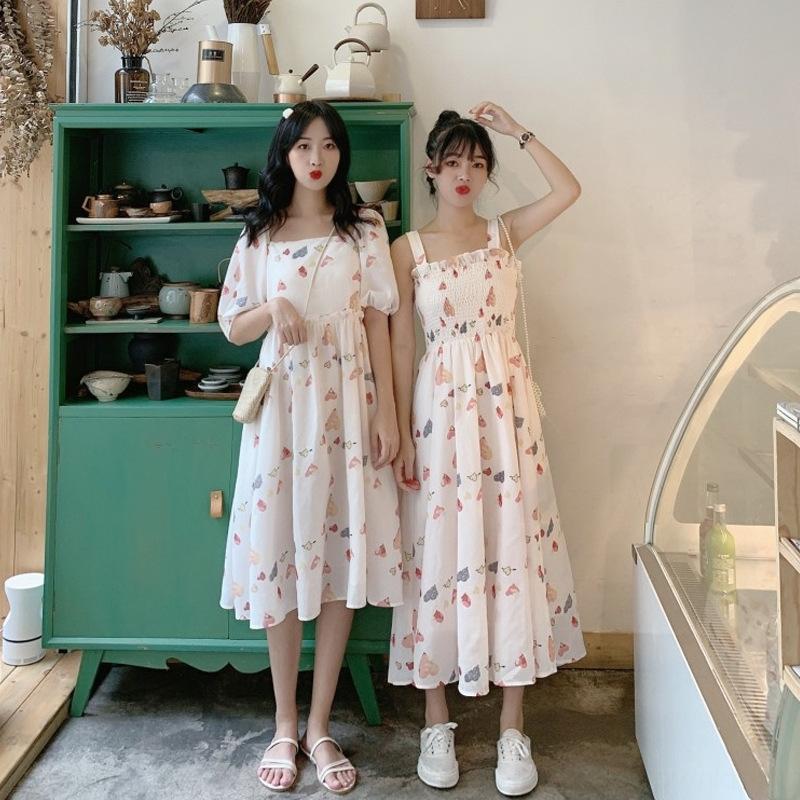 isLpf Yaz popüler Mori uzun Fransız tarzı etek uzun dişi yaz yumurta elbise peri Süper peri etek öğrenci mizaç kız arkadaşları