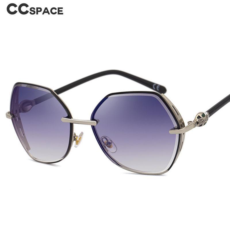 Солнцезащитные очки 49092 Полигон Роскошные Металлические Рамки Мужчины Женщины Мода Оттенки UV400 Старинные Очки