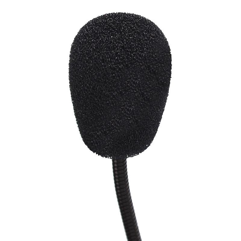 Mini Studio Speech Mikrofon 3,5 mm Stecker Gooseneck Mic Wired-Mikrofon für Computer PC Desktop-Notebook