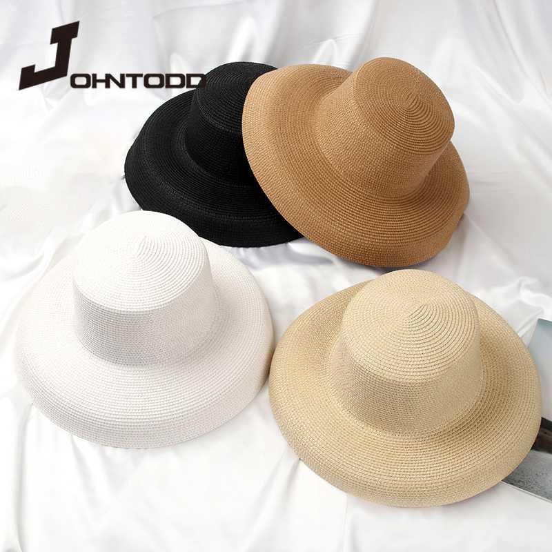 Sombrero de paja nuevo producto, señoras viaje de placer, el arco del sombrero de paja nudo, protector solar vacaciones al aire libre evitará el casquillo del sombrero de la playa del sombrero del sol