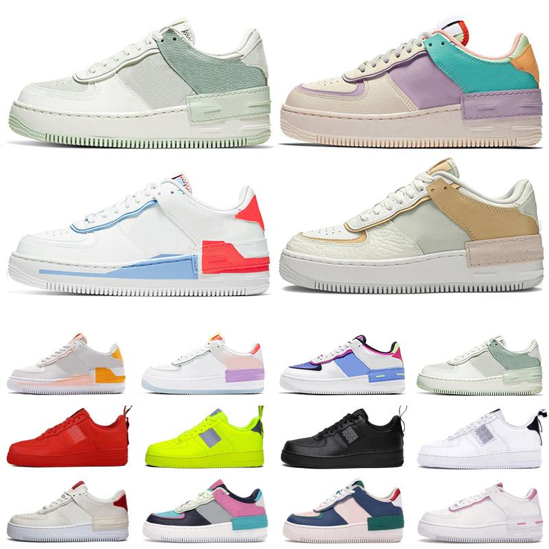 Nike air force 1 af1 Femmes Baskets Planche À Roulettes Skateboard High High Cut Wheat Brown Sport trainers