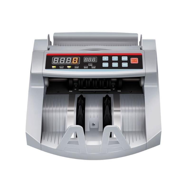 Bill Counter 110V / 220V Money Counter Suitable for EURO US DOLLAR etc. Multi-Currency Compatible Cash Counting Machine