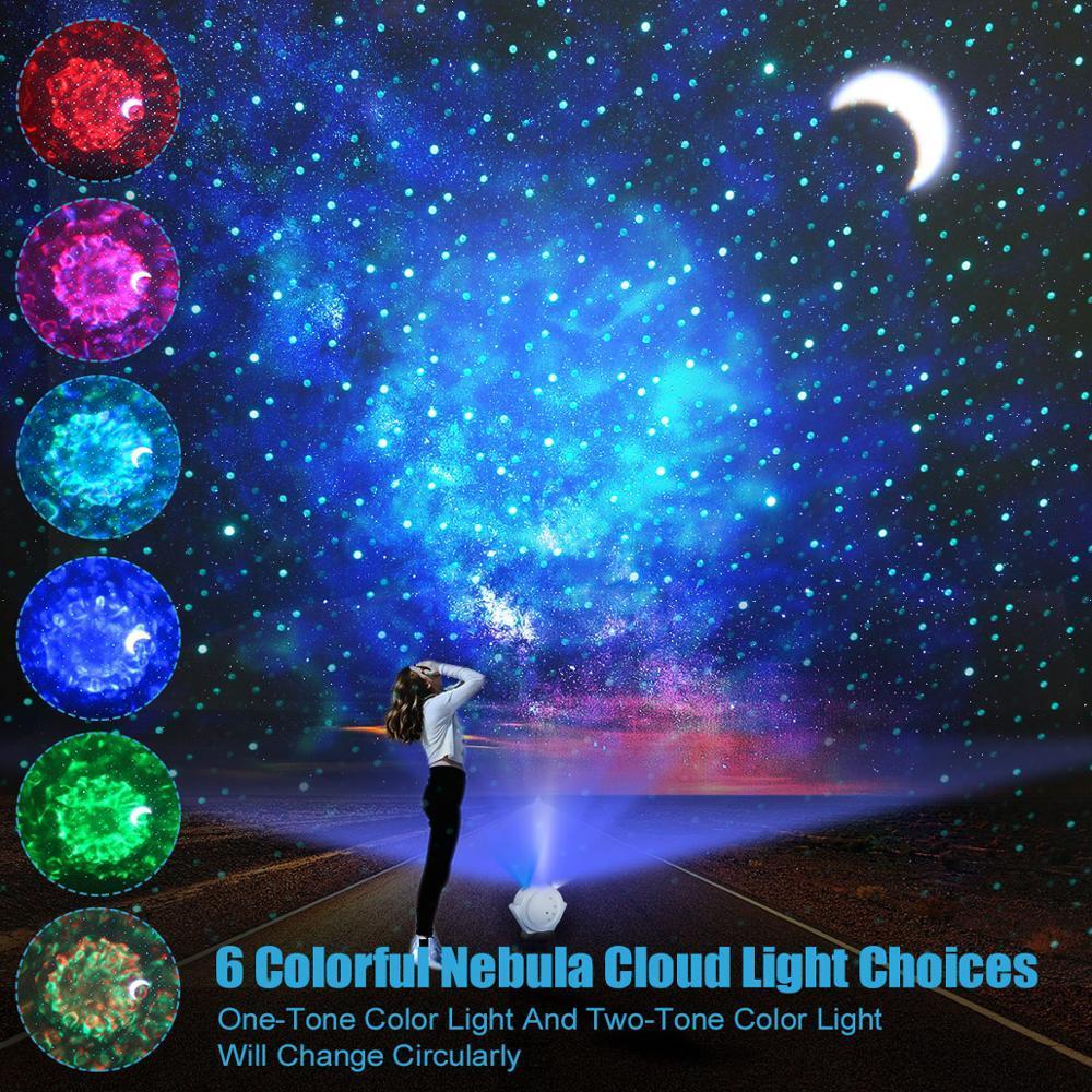 Smart Starry lampe de projection Sky Night Light Lampe de table LED Lampe Univers Chambre Nuit allume pour Enfant Bébé Enfants Chambre Nursery Cadeau