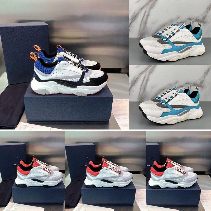 2020 Yeni Sıcak Satış Yüksek Kalite B22 erkek Spor Ayakkabı Rahat Ayakkabılar Moda kadın Fransız Tasarımcı Marka Rahat Ayakkabılar 36-46 Kutusu