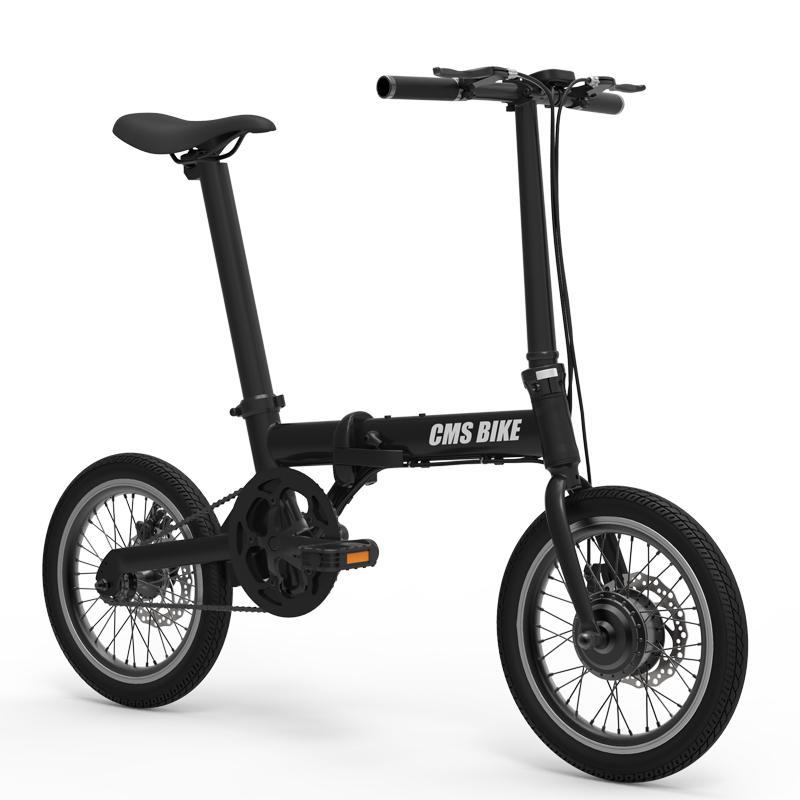 """Dobrável E-bike 16 """"bikes36v 250W bateria escondida bicicleta dobrável liga de alumínio"""
