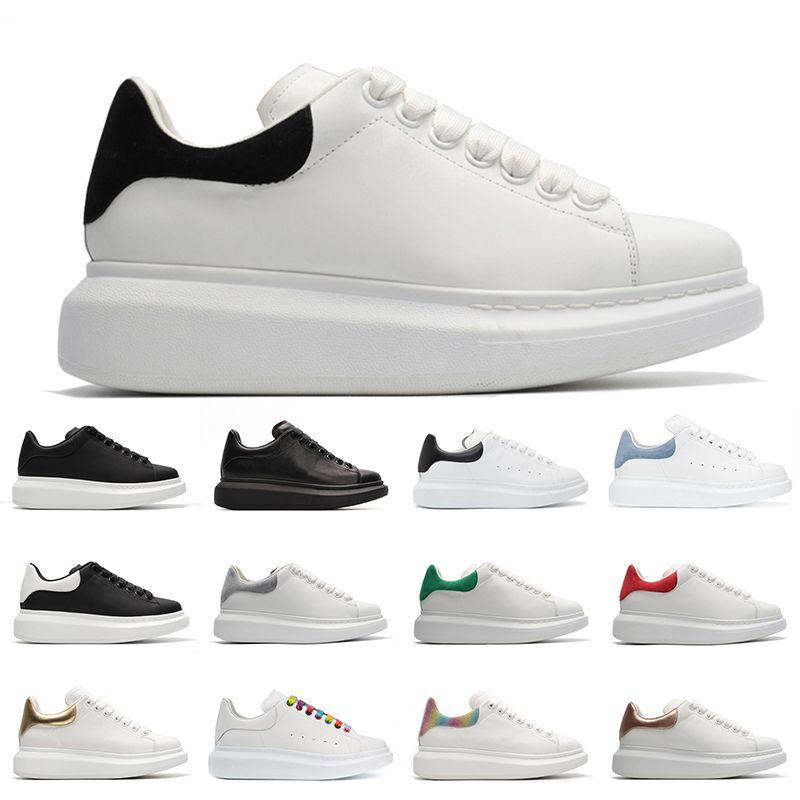 Hotsale Повседневная Обувь Люкс Дизайнеры Обувь Черная Замша Backtab Трехместный Белый Серый Backtab Мужчины Женщины Модные Платформы Кроссовки