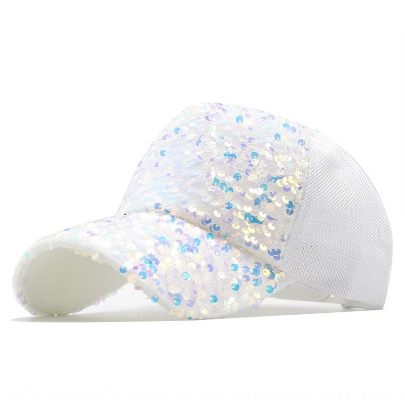 8tRD8 лето достигло пик моды блесток детей корейского стиля всех-матч модной бейсболки открытых остроконечного Зонта шляпа бейсболки ВС шляпу ВС