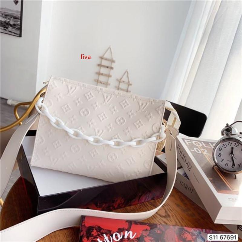 2020 moda yeni kadın tek omuz çantası çanta, Crossbody çanta deri üretimi, büyük kapasiteli, tasarım çanta, şık ve cömert Wi