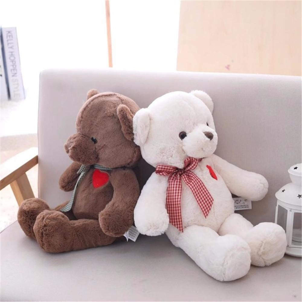 Cute Lamb Stuffed Animals, 2020 35 50cm Cartoon Teddy Bear Plush Toys With Heart Soft Stuffed Animal Toys For Children Kids Girls Birthday Gift Baby Brinquedos Y200723 From Luo07 9 54 Dhgate Com