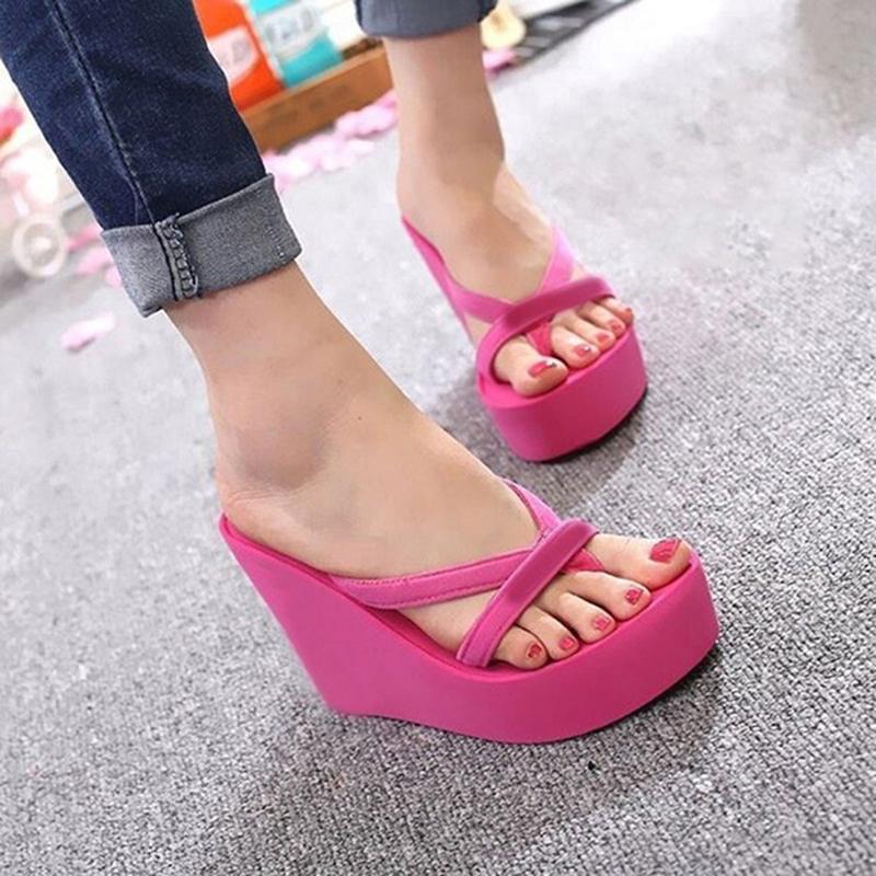Summer Slippers Women Casual Platform