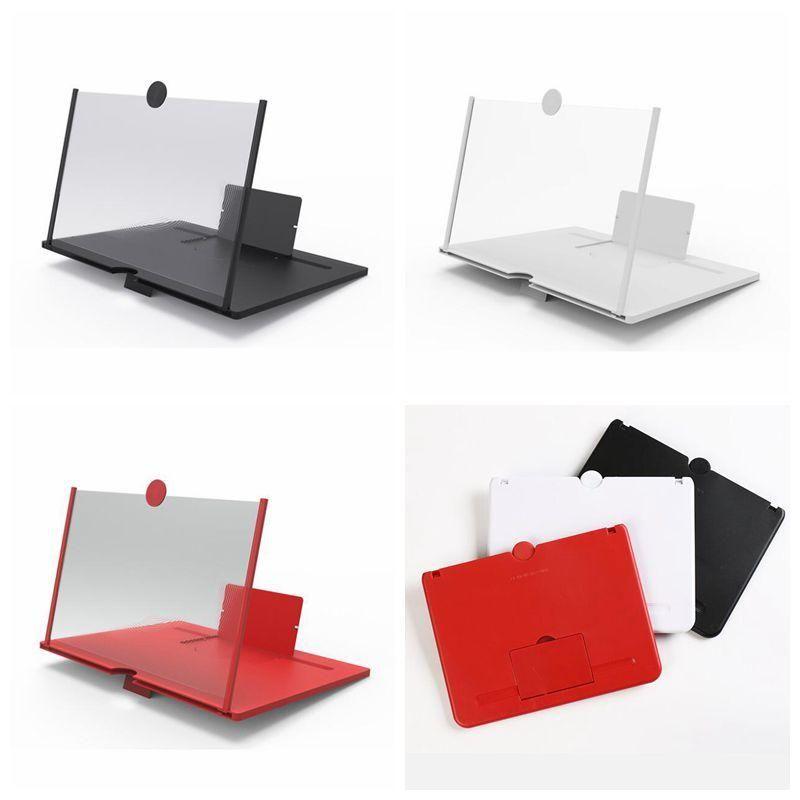 الشاشة مكبر للصوت شاشة الهاتف المحمول الهاتف مكبرات الصوت سحب خلية مكبر للصوت أكبر مشاهدة شاشات 3D زاوية الفيديو مكبرات الصوت 10 بوصة DHD1260