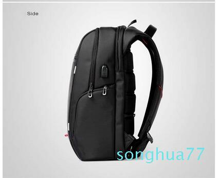 Designer-Brand Antitheft Notebook Backpack 15.6 inch Waterproof Laptop Backpack for Men Women External USB Charge Computer Bag