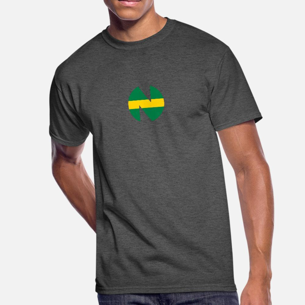 Новая команда T Shirt Men Graphic 100% хлопок круглого ворота Письма Graphic Повседневной Весна Нормальная