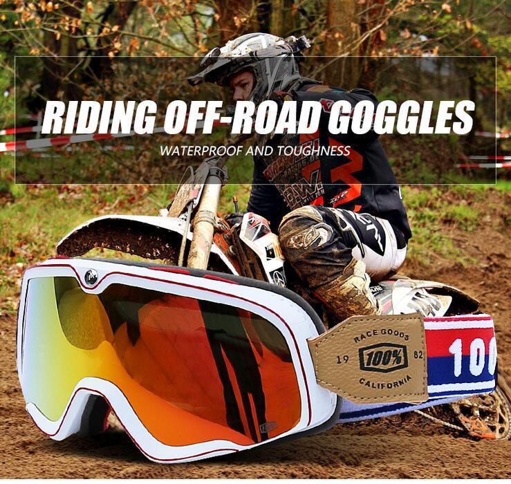 Deportes de invierno de la nieve de los anteojos Cuesta abajo motos de nieve accesorios de la motocicleta de motocross Gafas de sol Gafas de esquí bicicletas MX Ciclismo Máscara # X2