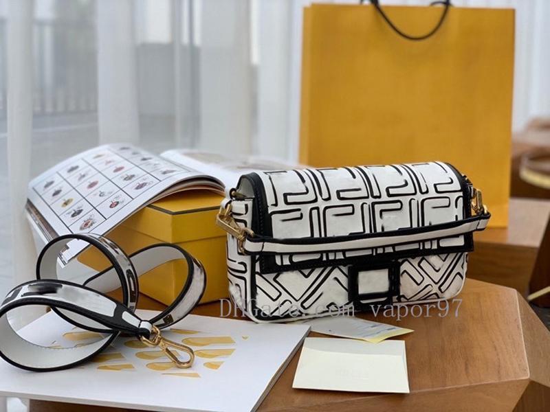26cm nuevo el cielo de la moda bolsa de california baguette f compras de las mujeres bolsos de mano bolsa de mensajero bolsas de mano ff 2020 1AIB #