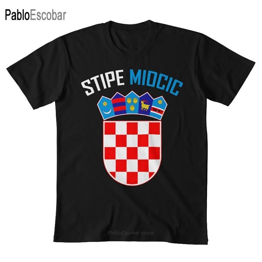 Миочич Хорватская Pride T Shirt Миочич Roots Бой Кормье Хорватия Хорватский Огайо