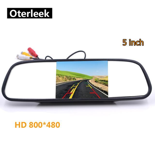 Cheap Vehicle Camera 5 inch Car Mirror Monitor for Rear View Camera Auto Parking Backup Reverse Monitor HD 800*480 TFT-LCD Screen