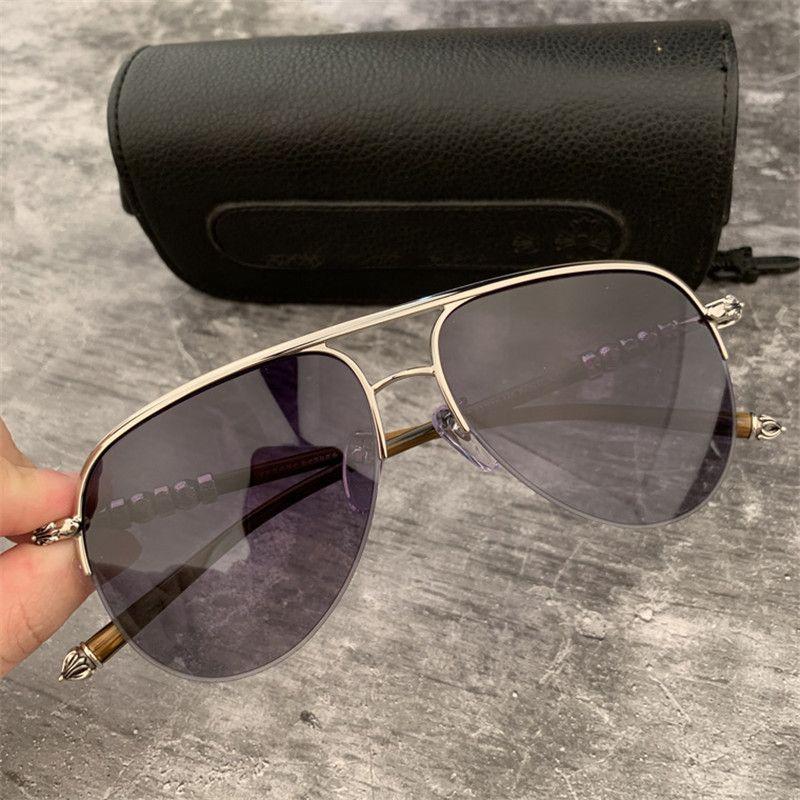 Marca Grey / Lentes Brown Sunglasses Homens Mulheres Moda óculos de sol grandes óculos de armação motorista óculos de sol óculos de sol com caixa original