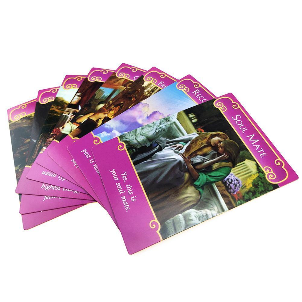 Consiglio Tarocchi Romance Oracle Partito carta inglese Per piattaforma di carte di gioco del gioco Giochi Personal Leggi Oracle Entertainmen Angels Fate kpMTa