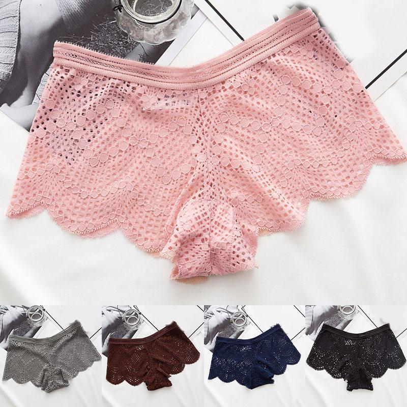 Sexy culotte en dentelle Femmes Mode Lingerie confortable Tempting Slip haute Underpant de qualité femmes à faible taille Intimates 2020 Sous-vêtements