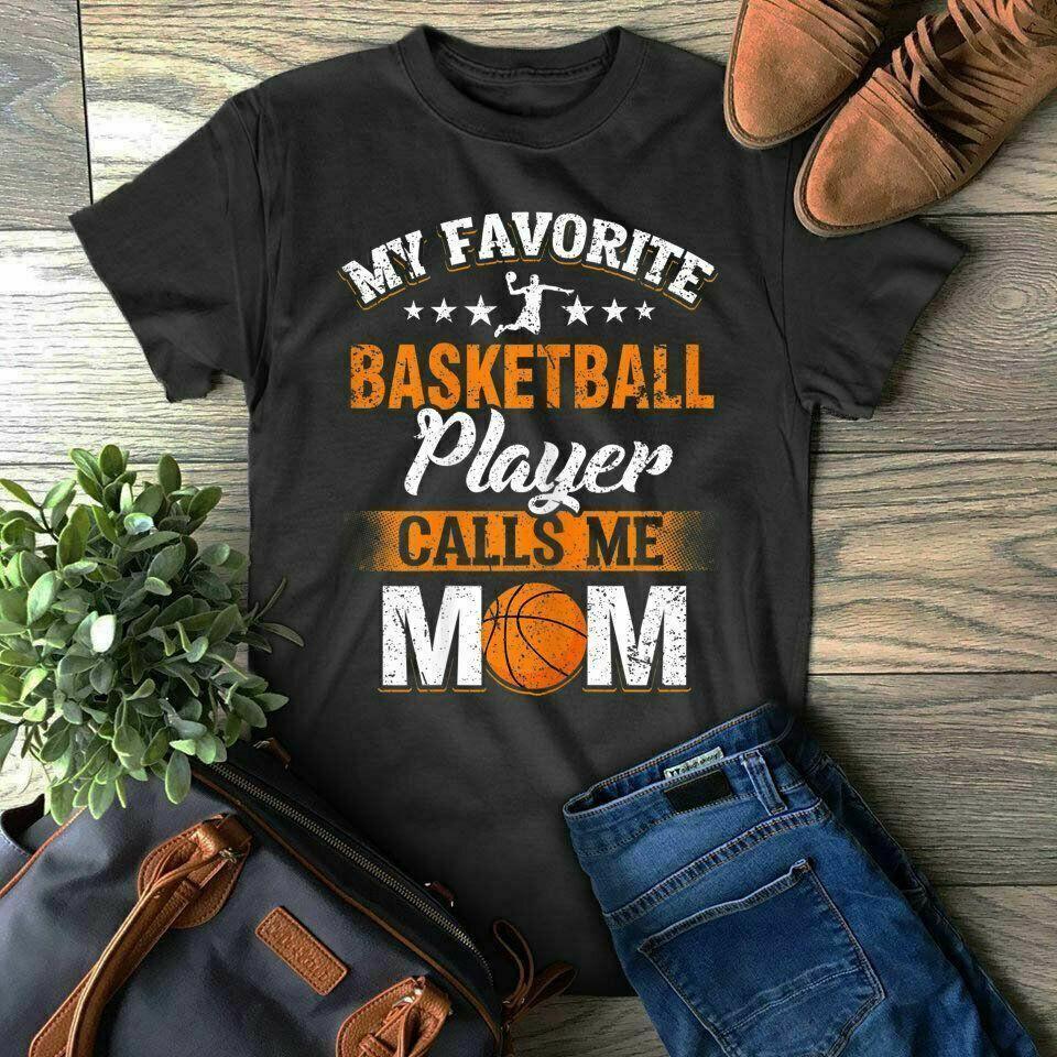 새로운 즐겨 찾기 농구 선수가 내 엄마 T 셔츠 선물 어머니의 날을 호출