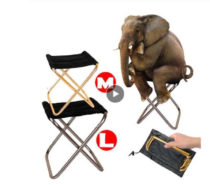Pliant Pêche Chaise légère pique-nique Chaise de camping pliable en aluminium Tissu extérieur Facile portable à Carry Mobilier d'extérieur