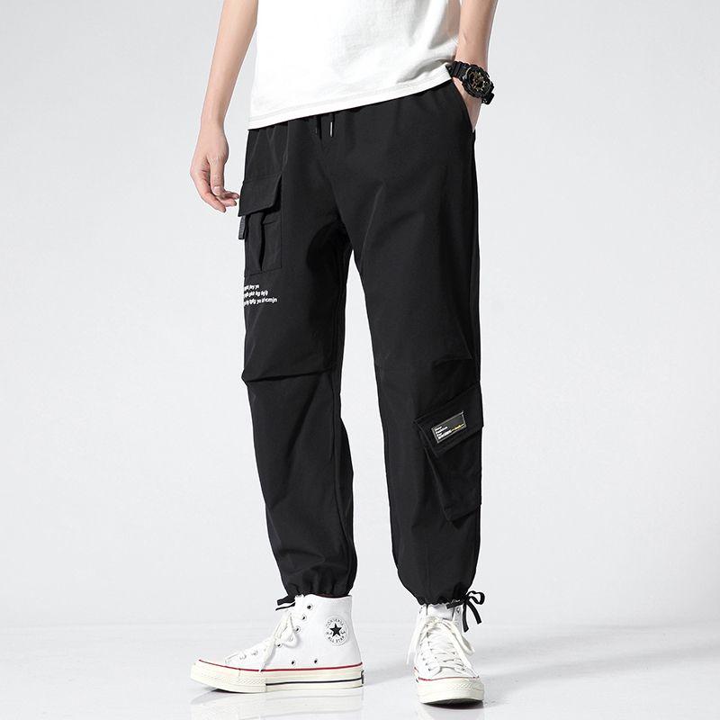 2020 nuovi uomini Harem Pants Hip Hop Streetwear casual jogging uomini Moda autunno elastico in vita Pantaloni Maschio Dropshipping